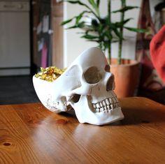 Skull Desk Organizer