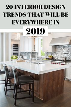 Popular 27 Home Decor Trends 2019 Usa Related Posts to 10 Most Popular Interior Decoration Trends in Latest Interior Decor Trends and Design Ide… Bathroom Interior Design, Modern Interior Design, Kitchen Interior, Interior Ideas, Modern Decor, Style At Home, Layout Design, 2019 Kitchen Trends, Living Room Trends 2019