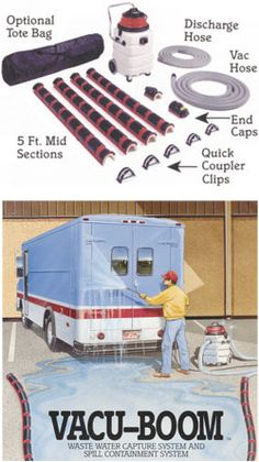 Wash Pad Containment Systems - Dultmeier Sales   Vacuums