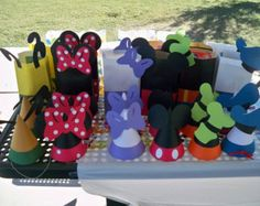 mickey mouse clubhouse party hat template - Google Search