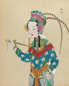Chinese Opera figure. Period: Qing dynasty (1644–1911) Date: late 19th–early 20th century