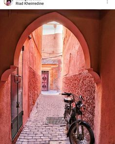 There is nothing like the red city by @missjetsetter #morocco #riad #marrakech #travelafrica #tripinafrica