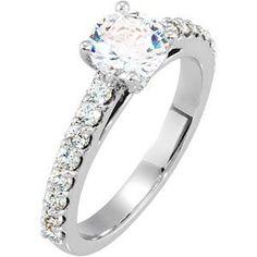 Warren Hannon Jeweler :: Semi-Mount Engagement Ring or Matching Band