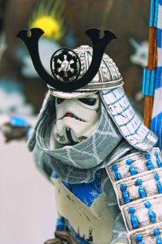 Samurai Stormtrooper by Gary Burke, via 500px