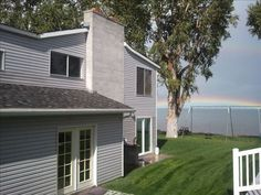 House vacation rental in Bear Lake  5 beds+ bunk area, Private beach and play area!  2550/week in June