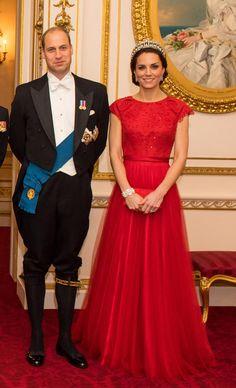 Kate Middleton, royale avec la tiare de Lady Diana   Le Figaro Madame