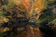 River Findhorn in Autumn © Tomasz Szatewicz