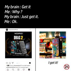 VOOPOO hopes to create the best vape products with best user experiences. VOOPOO has researched and developed GENE. Vape Memes, Funny Memes, The Beginning Of Everything, Vape Coils, Vape Accessories, My Brain, I Got This, How Are You Feeling, How To Get