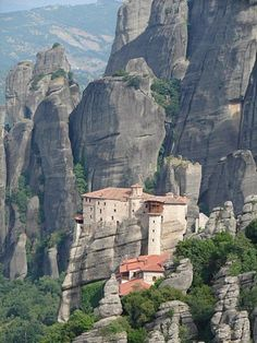 Meteora, Eastern Orthodox monastery in Greece, UNESCO World Heritage Site.. cntraveler.com