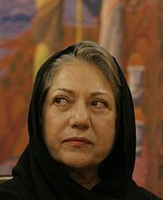 Rakhshān Bani-E'temād (Persian: رخشان بنی اعتماد , Rakhshān Bani-E'temād, born 3 April 1954 in Tehran) is an internationally and critically acclaimed Iranian film director and screenwriter. Widely considered as Iran's premier female director, her films have been praised at international festivals as well as being remarkably popular with Iranian critics and audiences