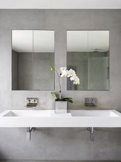 light grey bath