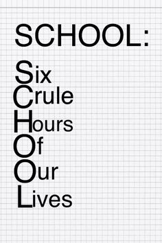 NOT FOR ME!!!!! Middle school drop outs don't have this problem   #homeschooled