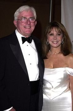 Phil Donahue and Marlo Thomas after all these years still together