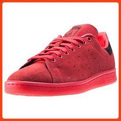adidas Stan Smith Damen Sneakers Red Black - 5 UK (*Partner Link)