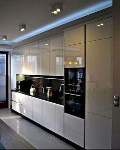 50+ Trending Contemporary Kitchen Design Ideas #kitchendesignideas #kitchenremodel #kitchenideas » Lacalabaza.net