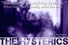 RELEASE BLITZ & TRAILER: The Hysterics by Kristen Hope Mazzola - #RockstarAlert - iScream Books