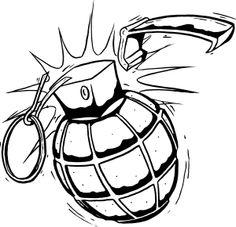 traditional grenadetattoo designs | Report issue within an image. Dark Art Tattoo, Tattoo Flash Art, Tatoo Art, Tattoo Design Drawings, Tattoo Sketches, Tattoo Designs, Graffiti Alphabet, Graffiti Lettering, Graffiti Drawing