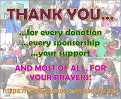 FROM JESUS TO MY RESCUE MINISTRIES: From the bottom our our hearts, thank you so much for your support, donations, sponsorships and prayers. Thank you for helping us help those in need. God bless you!  #thankyou #donation #donations #prayer #help #charity #feedingthehungry #jtmrfortheaged #walkingwithjesus #bibledrive #trainingforjesus #jtmr #jtmrministries #jesustomyrescue God Bless You, Charity, Prayers, Blessed, Bible, Content, Festive, Hearts, Christmas