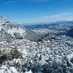 Lefkada,January 2016 #lefkadaslowguide #lefkadazin #lefkada #mountain #snow #winter #beauty #destination #nature