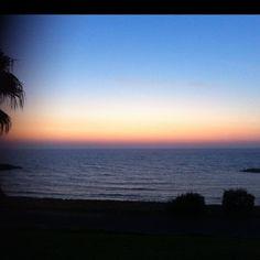 #dusk #sunset good evening #telaviv