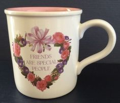 Friendship Coffee Mug Cup - Friends are Special People - American Greetings