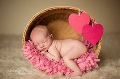Baby's First Valentine's Day: 15 Photo Ideas for Baby | Chic & Cheap Nursery™ | Bloglovin'