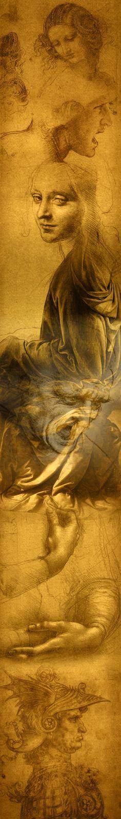 disegni di Leonardo da Vinci