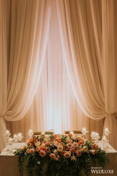 WedLuxe– An Intimate and Romantic, Floral-Filled Wedding |  Follow @WedLuxe for more wedding inspiration!