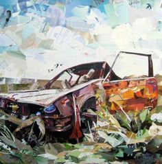 Collage Car Crash