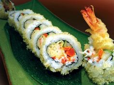 Sushi Roll- Tempura Shrimp Recipe