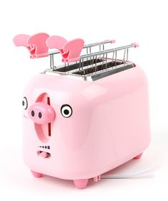 pig toaster, cute!
