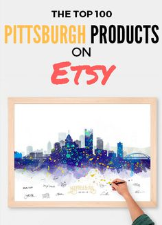 Looking to decorate your house with all things Pittsburgh? Check out our guide to the Top 100 Pittsburgh products on Etsy!