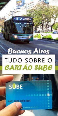 Buenos Aires com transporte público - tudo sobre o cartão SUBE