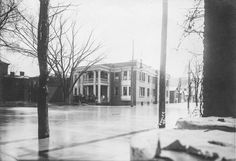 1913 Portsmouth Flood-Second and Gay Streets · Local History Digital Collection Portsmouth Ohio, County Seat, Ohio River, Local History, Historical Photos, Gay, United States, Outdoor, Historical Pictures