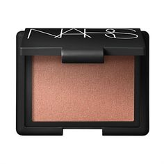 NARS Luster- apricot pink on my cheeks. Love it