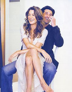 When Soap Operas Become Reality... - http://luzialight.wordpress.com/2013/06/15/when-soap-operas-become-reality/ Ellen Pompeo, Patrick Dempsey