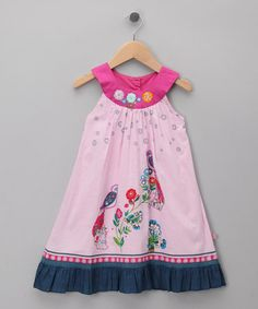 Take a look at this Songbirds Dress - Toddler & Girls by Cutey Couture on #zulily today!