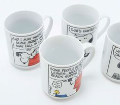 Peanuts Stacking mugs set at Urban Outfitters