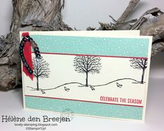Lovely-Stamping, Stampin'Up! producten bestel je hier: Stampin'Up! YouTube Happy scenes