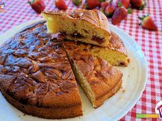 Dolce veloce con fragole e marmellata  #ricette #food #recipes