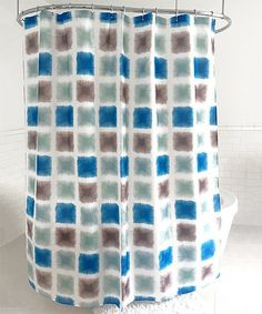 This On the Level Shower Curtain is perfect! #zulilyfinds
