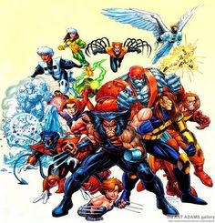 X-Men: Age of Apocalypse - with lead art by Joe Madureira - my favorite storyline in Marvel Comics.