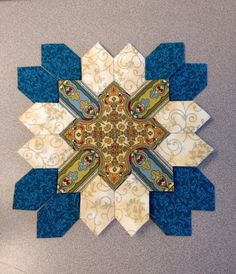 POTC- this is my actual very 1st Lucy Boston block. And I just found it on Pinterest. How exciting !!
