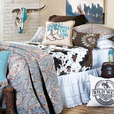 I Walk The Line Bedding Collection