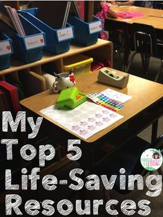 My Top 5 Life-Saving Resources. Find out how I make lesson planing less stressful by using my 5 favorite resources.