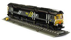 Class 66 by Mike Pianta #lego #locomotive #class66 #brickadelics #train #railway