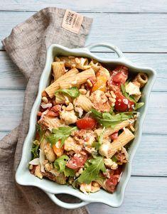 Pasta Salad, Cobb Salad, Barbecue, Tacos, Ethnic Recipes, Partys, Food, Pita Bread Pizza, Italian Salad