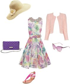 """""""Summer Tea Party"""" by whyisanorange on Polyvore"""