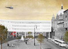 Arne Garborgs Plass, 2014 - Superunion Architects