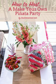 Summer Fun: How to Host a Piñata Making Party!